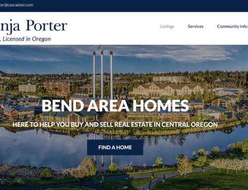 Check out the brand new look at BendAreaHomes.com!